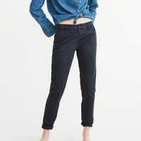 Womens Low-Rise Chino Pants | Womens Bottoms | Abercrombie.ca