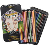 Prismacolor Premier Colored Pencils Pack of 24 with Decorative Tin