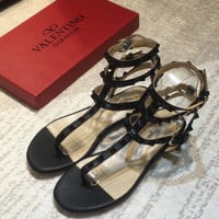 valentino Flat bottom Salix sandals