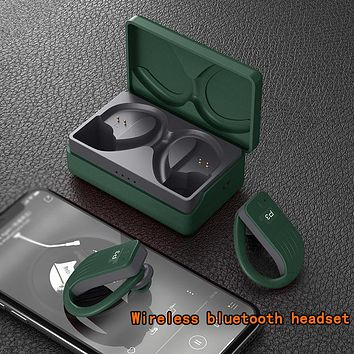 New wireless bluetooth headset driving and running sports headset