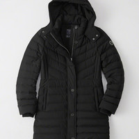 Womens Ultra Stretch Puffer-Meets-Parka | Womens Coats & Jackets | Abercrombie.com