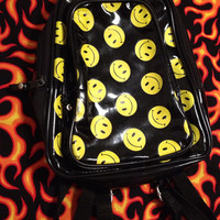 Smiley Face Mini Backpack