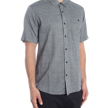 Winded Short Sleeve Shirt - Black