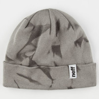 Neff Acidic Cuff Beanie Grey One Size For Men 24654611501