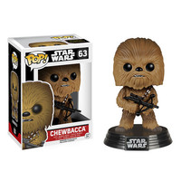 Chewbacca Pop Star Wars Force Awakens Vinyl Figure