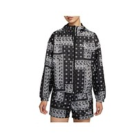Nike Women's NSW Heritage Bandana Windbreaker Jacket
