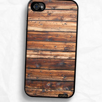 Wood Texture Hard iPhone Case / Fits iPhone 4 4s by CRAFIC on Etsy