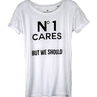 No1 Cares WOMEN T-Shirt