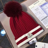 Moncler Women Fashion Beanies Knit Winter Hat Cap