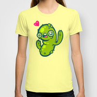 Pickled Cactus T-shirt by Artistic Dyslexia