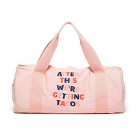 ban.do - work it out gym duffle bag - after this we're getting tacos