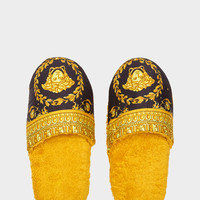 Versace I ♡ Baroque Bath Slippers - Home Collection   US Online Store