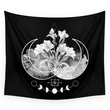Society6 Flowers Wall Tapestry