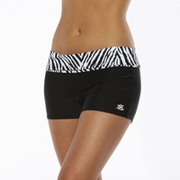 ZeroXposur Zebra Boy Short Bottoms