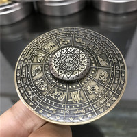 Egypt Twelve Constellations UFO Fidget Hand Spinner Spinning Top Classic Toys