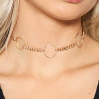 Out of the Loop O-Ring Choker