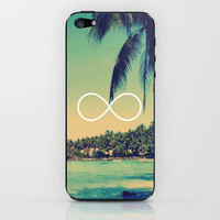 Forever Summer Vintage Beach Infinity iPhone & iPod Skin by RexLambo   Society6