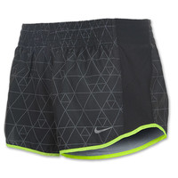 Women's Nike Printed Racer Shorts