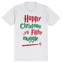 Happy Christmas Ya Filthy Muggle - Harry Potter - Home Alone