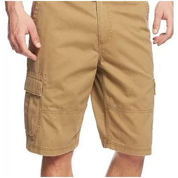 American Rag Mens Relaxed Cargo Shorts, 29/DullGold