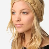 UrbanOutfitters.com > Braided Cable Knit Ear Warmer