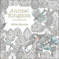 Lark Books Color Me, Draw Me: Animal Kingdom by Millie Marotta
