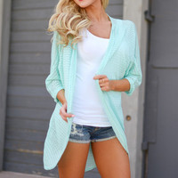 Couldn't Ask For More Kimono - Mint
