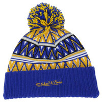 Golden State Warriors NBA Tribal HI 5 Pom Beanie