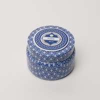 Capri Blue Printed Travel Tin - Paris Fragrance Anthropologie Candle