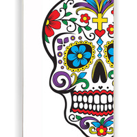 Skull Flowers 2 for Iphone 4 / 4s Hard Cover Plastic