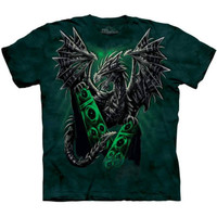 ELECTRIC DRAGON The Mountain Death Metal Rock N Roll Music T-Shirt S-3XL NEW