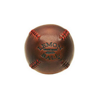 Lemon Peel Baseball (Cognac)