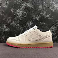 Air Jordan 1 Low Beige Suede - Best Online Sale