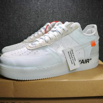 OFF-White x Nike Air Force 1 low 1739-1 White