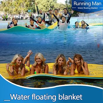 Anti-tear Foam Swimming Pool Floating Pad Water Blanket Durable For Water Entertainment Picnic Mat Pool Accessories
