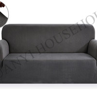 Drawing Room Decorate Anti Mite Jacquard Fabric Couch Covers Polyester Spandex Slipcovers Washable Antifouling Sofa Covers