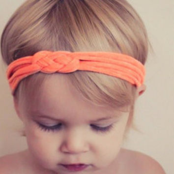 30 COLORS - SALE Celtic Sailor Knot Headbands - Baby, Infant, Toddler, Teen, Adult Knotted Headwrap - Turban Jersey Headband