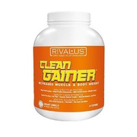 Rivalus - Clean Gainer Increases Muscle & Body Weight Creamy Vanilla - 5 lbs.