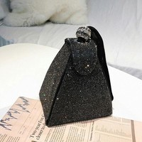 Coco Diamond Stud Evening Clutch
