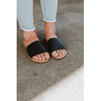Adora Slide Sandal - Black