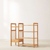 Bamboo Entry Way Organizer | Urban Outfitters