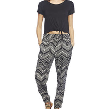 Tribal Jogger Pant | Wet Seal