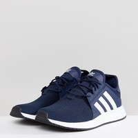 adidas Originals X PLR Trainers In Navy CQ2407 at asos.com