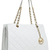 MICHAEL Michael Kors 'Susannah' Quilted Leather Tote