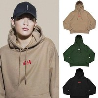 Spot European And European High Street Fashion 424 Hoodie Who Is The Same Style Of Cothing And Clothing Embroidery