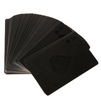 MollaSpace Cards Black Deck of Cards