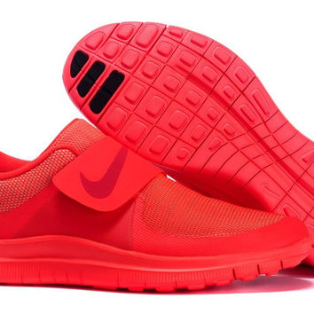 """""""NIKE"""" Trending Red Fashion Casual Running Sports Shoes"""