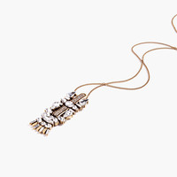 J.Crew Womens Collected Charm Pendant Necklace