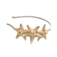 White Triple Starfish by ShellObsessions on Etsy
