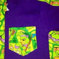 Ninja Turtle Pocket Tee shirt